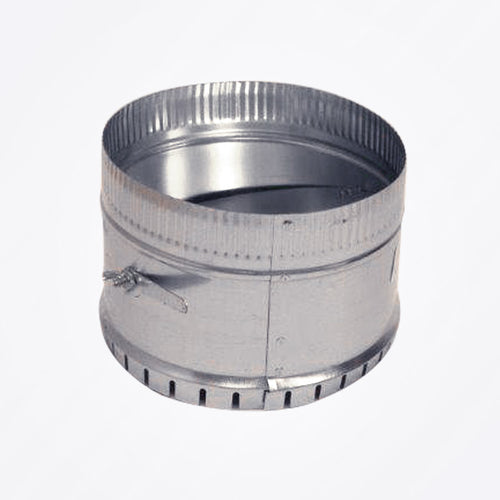 Round Duct Extended C-Collar with Damper