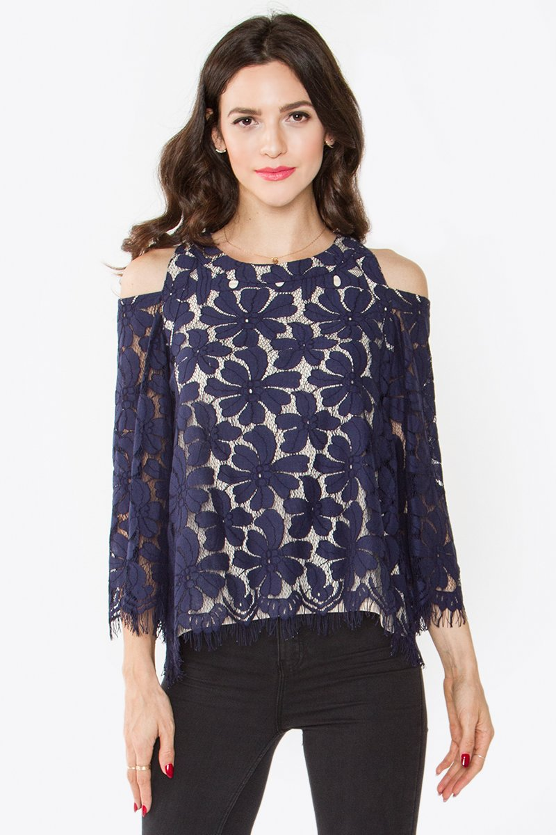 Anemone Lace Top