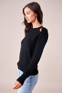 Atlanta Key Hole Cut Out Sweater
