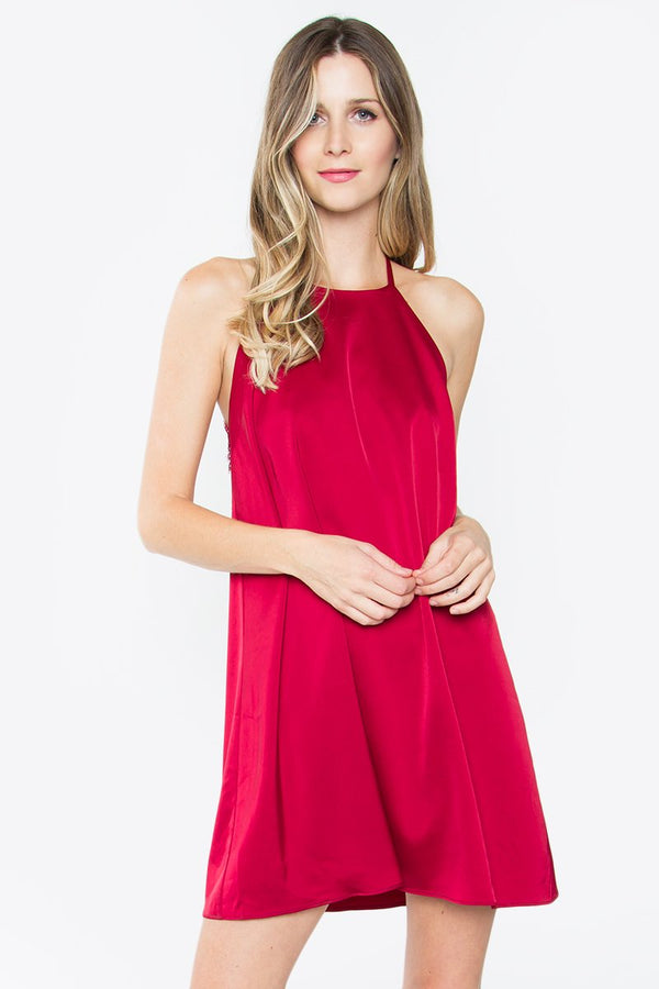 Tate Halter Shift Dress