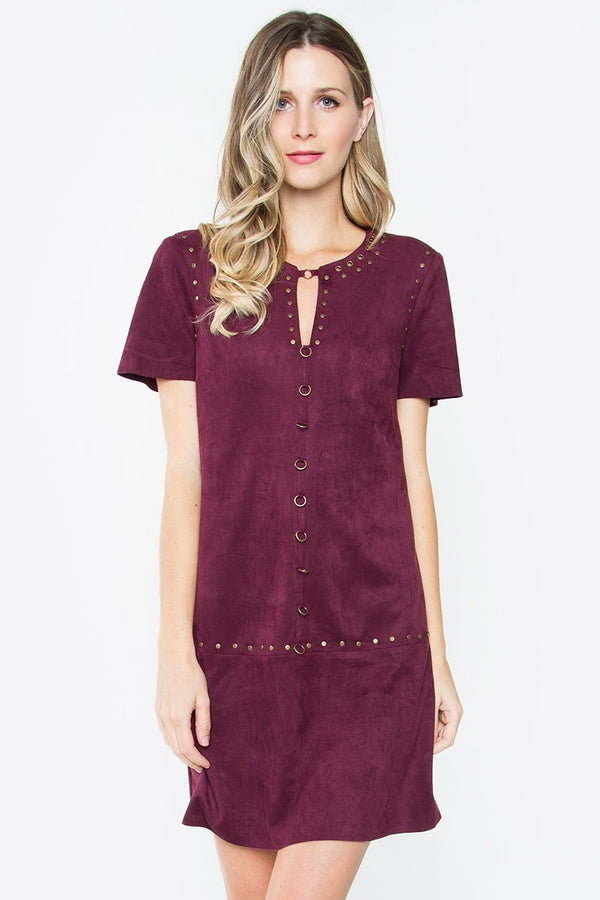 Savanna Suede Dress