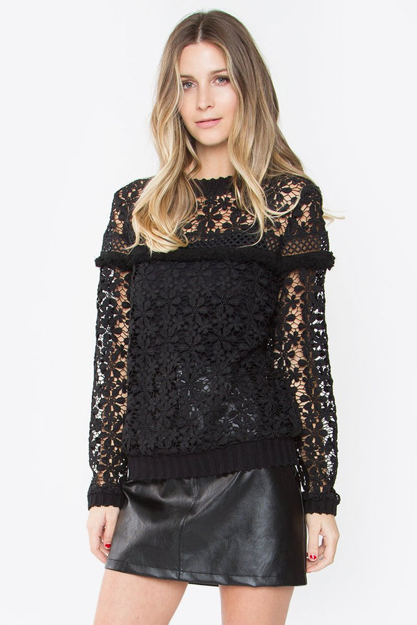 Dhalia Lace Top