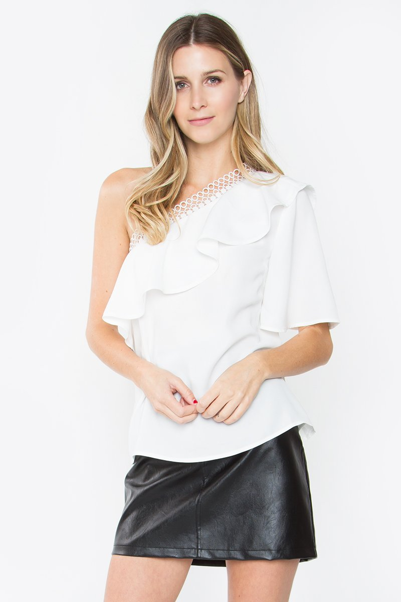 Platina One Shoulder Top