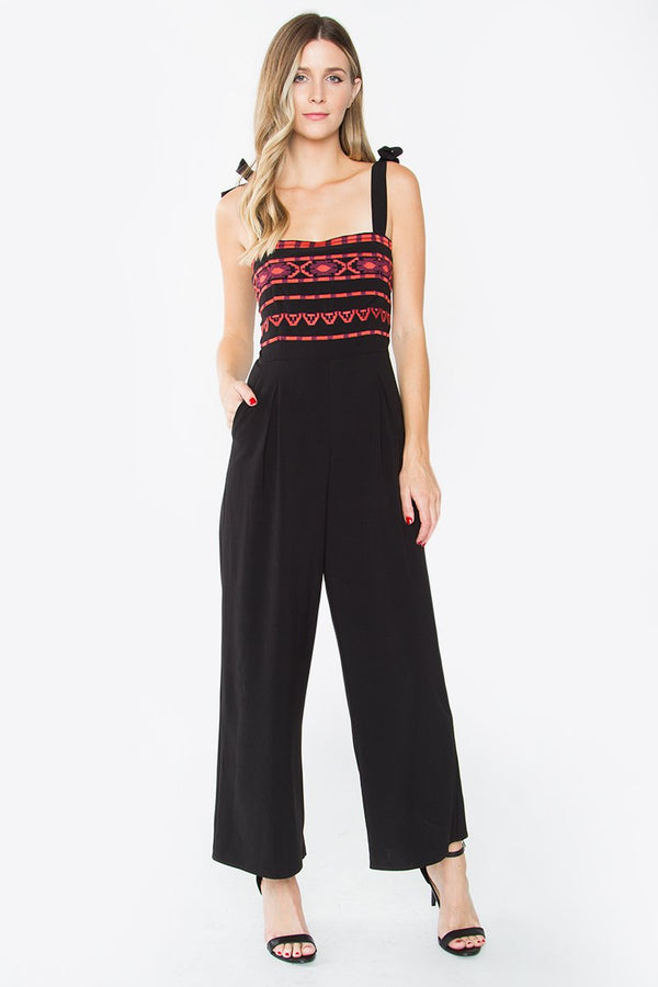 Emmalyn Embroidered Jumpsuit