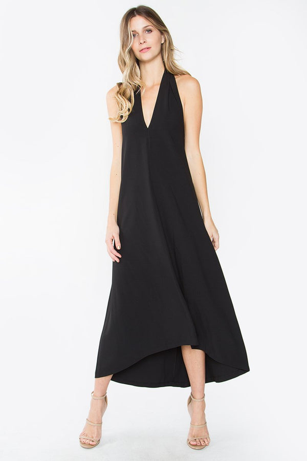 Breena Halter Midi Dress