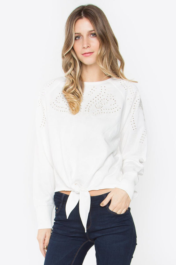 Maurie Sweatshirt Top