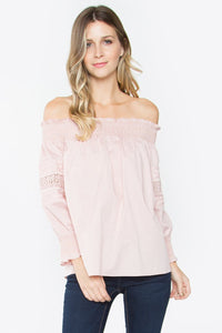 Nettie Off The Shoulder Top