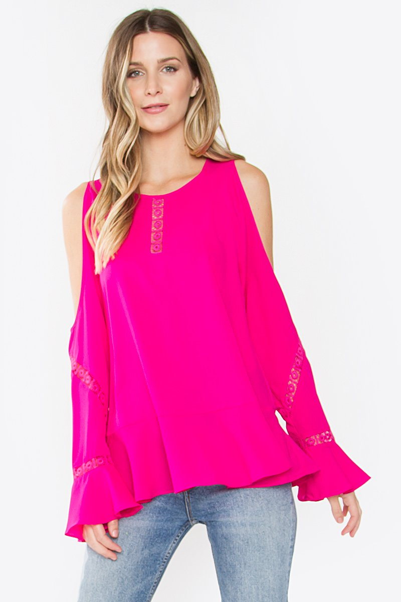 Kanken Cold Shoulder Top