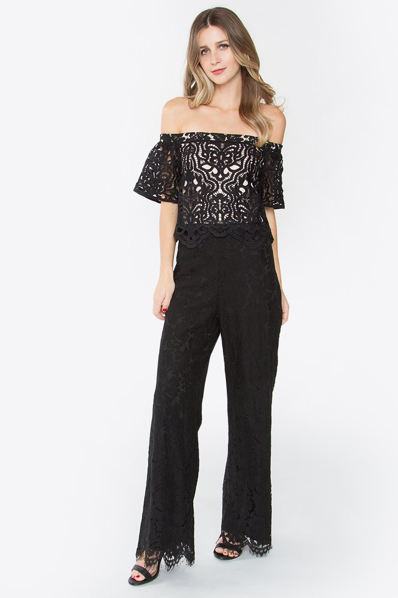 Klea Off The Shoulder Jumpsuit