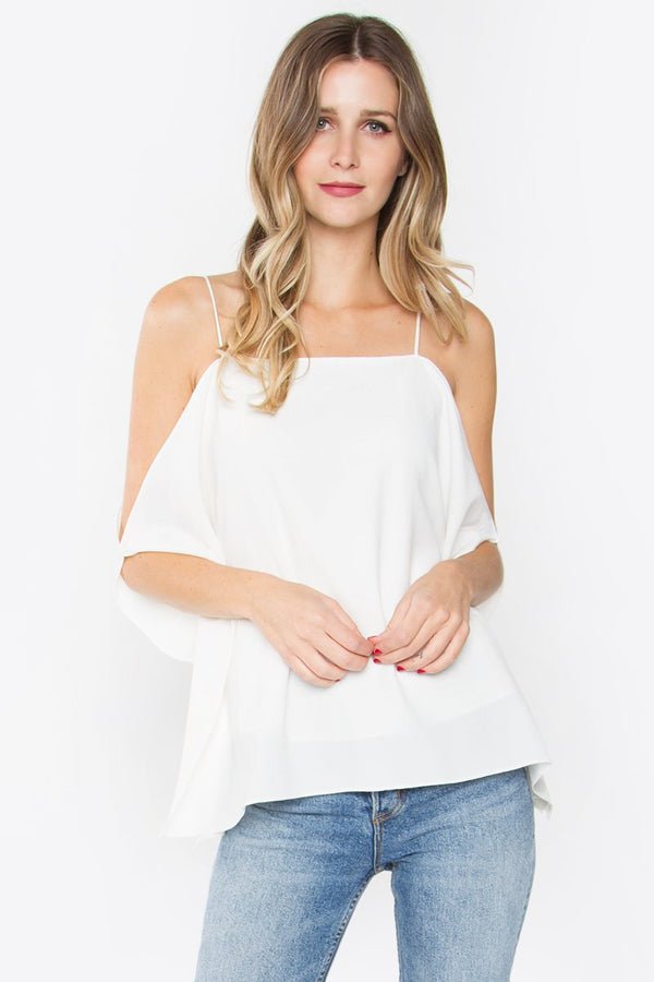 Desi Open Shoulder Top