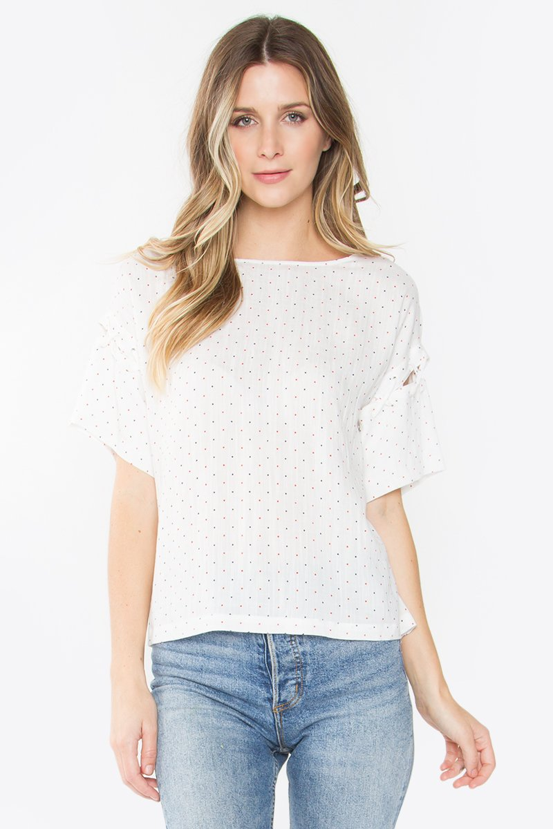 Rossi Polka Dot Top