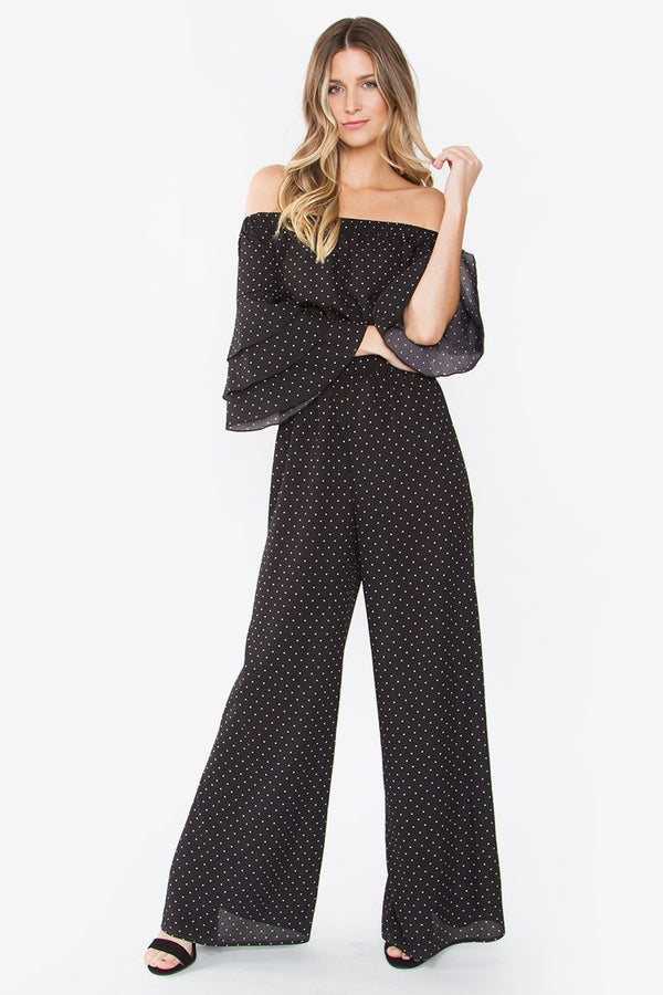 Charice Off The Shoulder Jumpsuit
