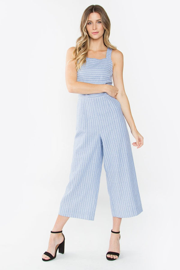 Sonelle Striped Jumpsuit