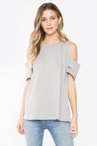 Sloane Cold Shoulder Top