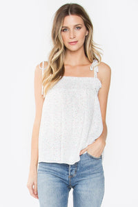 Sharene Tie-Shoulder Cami Top