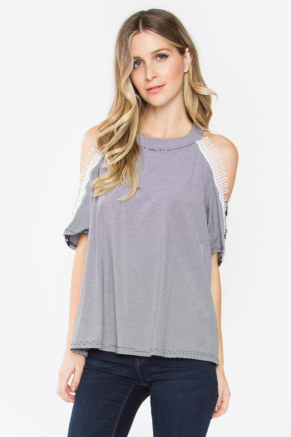 Ricki Cold Shoulder Knit