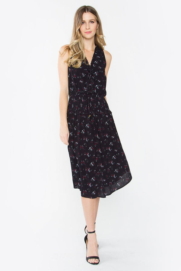 Kenzie Print Midi Dress