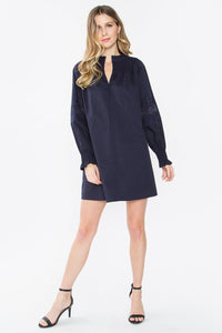 Sonelle Poplin Peasant Dress