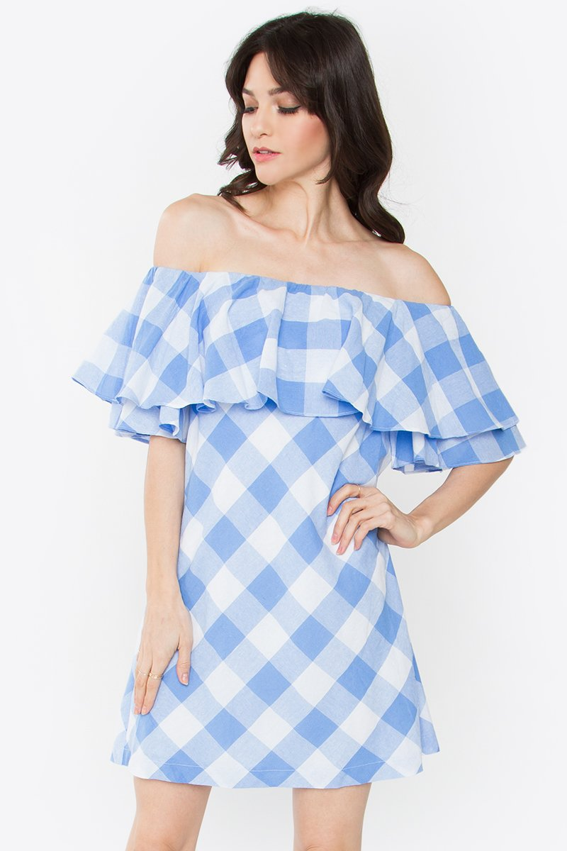 Finnegan Off the Shoulder Dress