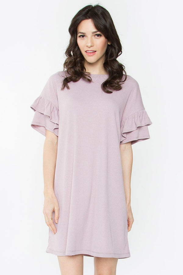 Marnie Ruffle Shift Dress