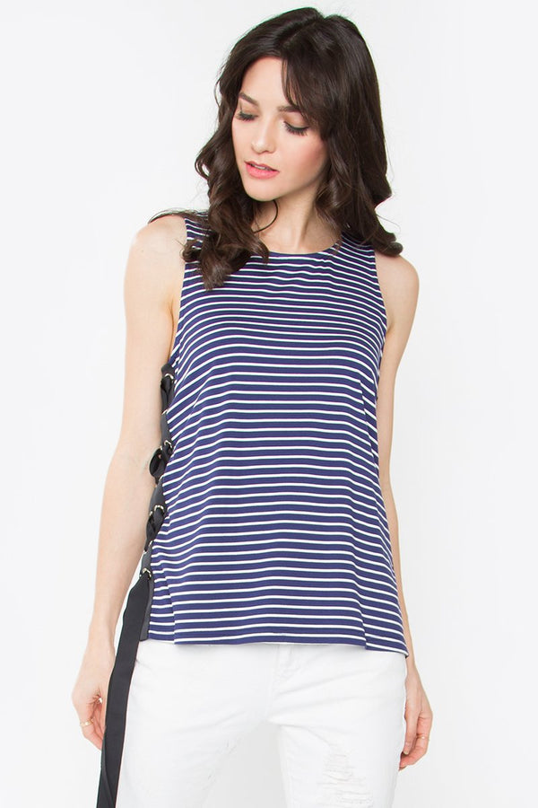 San Andreas Striped Top