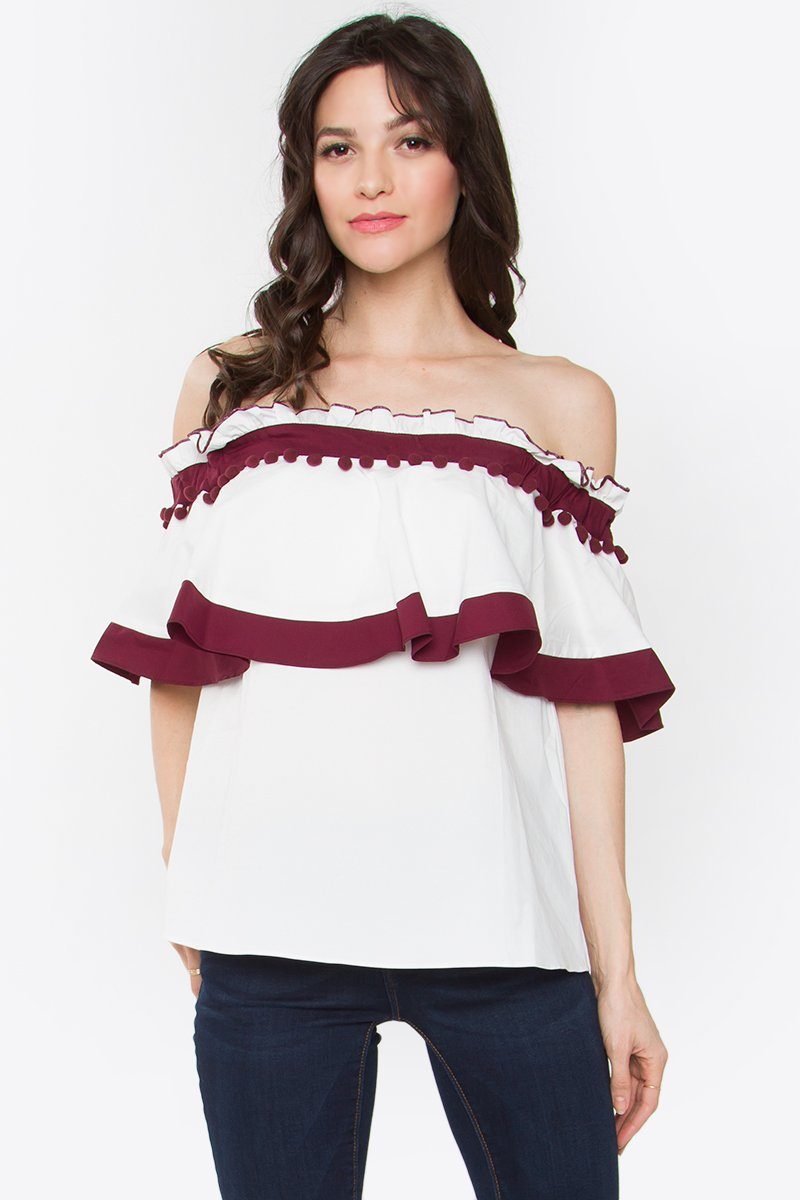 Lily Off The Shoulder Top