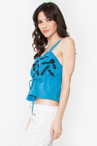 Daya Embroidered Top