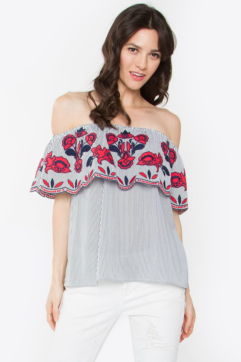 Julienne Off the Shoulder Top
