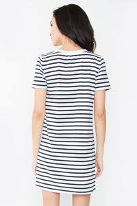 Jayden Striped T-Shirt Dress