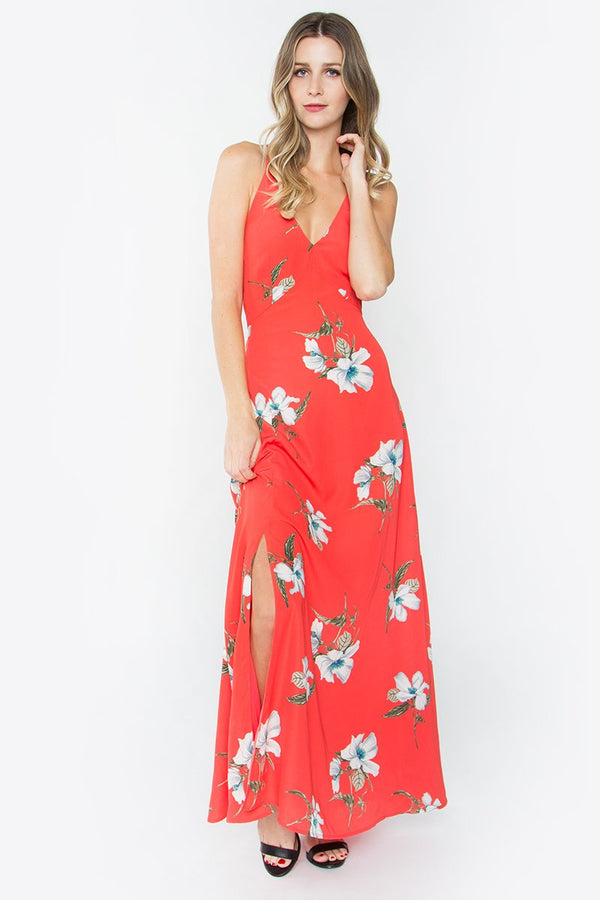 Kelsey Floral Maxi Dress