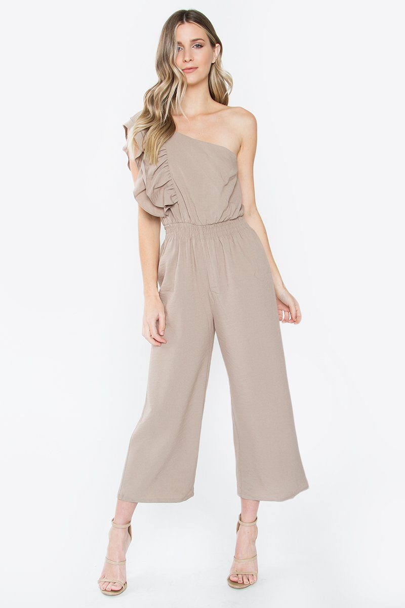 Royal Ruffle Jumpsuit