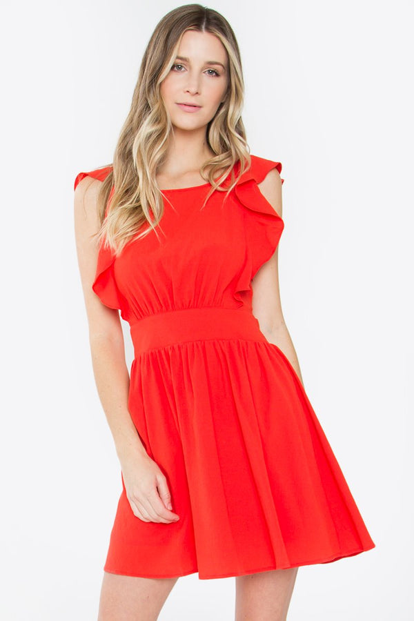 Dakota Ruffle Dress