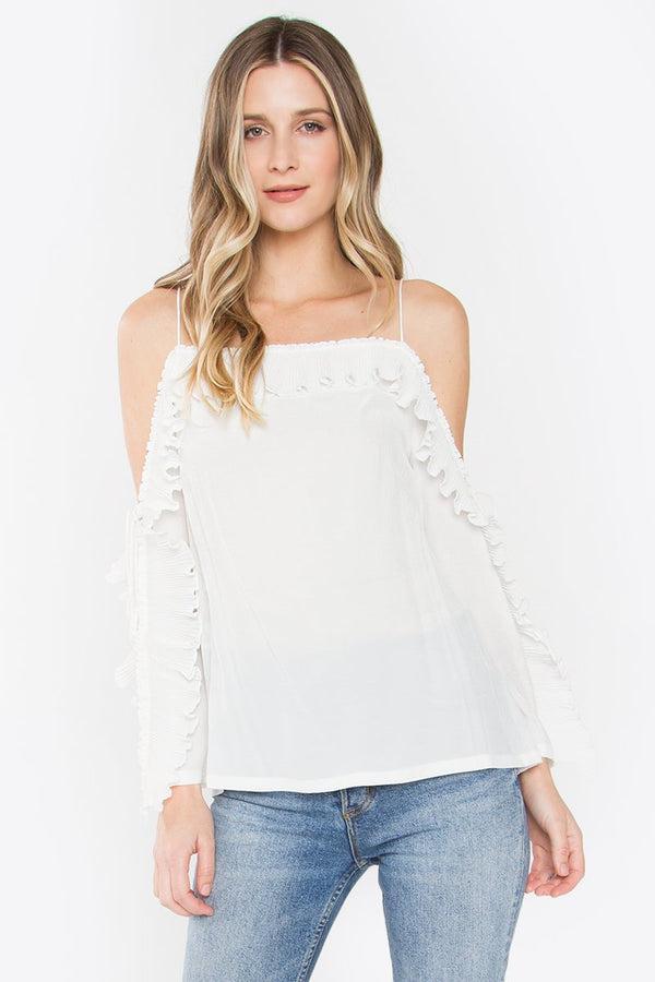 Jayla Cold Shoulder Top