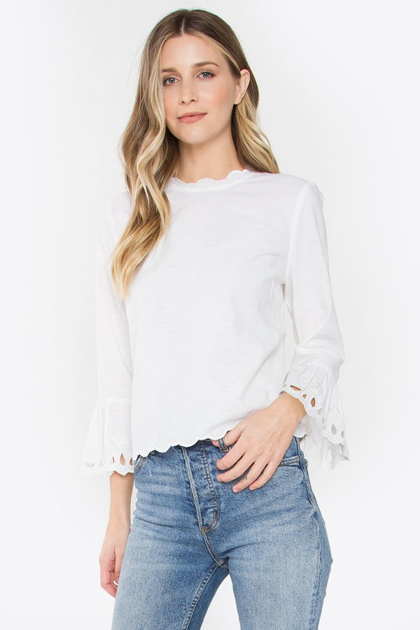 Essence Bell Sleeve Top