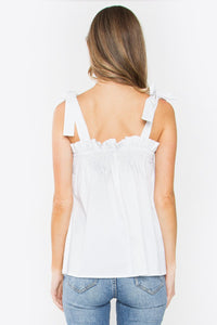 Alessandra Tie Shoulder Top