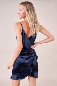 Ready For Romance Satin Mini Dress
