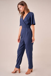 Catch Me Belted Jumpsuit