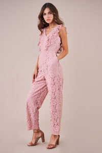 Swoon Over Lace Jumpsuit