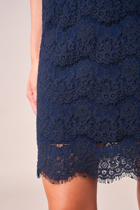 Love For You Lace Shift Dress