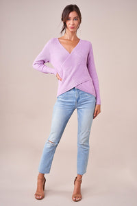 Britt Wrap Sweater