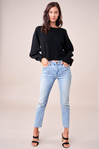 Zarlin Balloon Sleeve Sweater