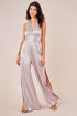 Magic Moment Pleated Sparkle Wide Leg Halter Jumps