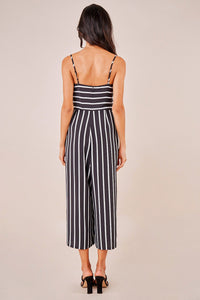 Reeves Striped Wide Leg Jumpsuit