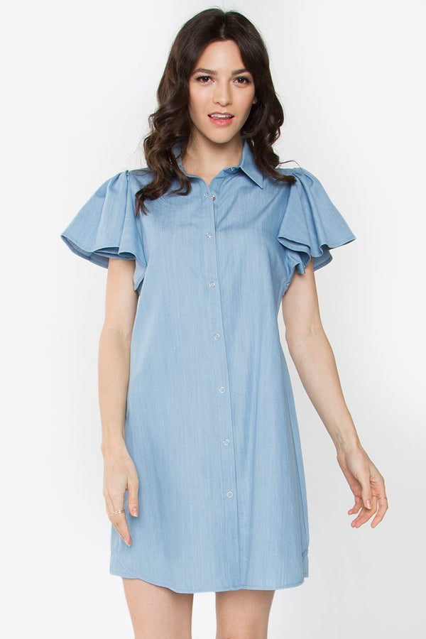 Helena Collard Denim Dress