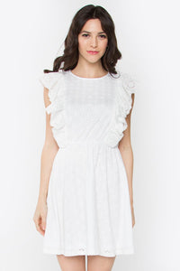 Angie Eyelet Dress