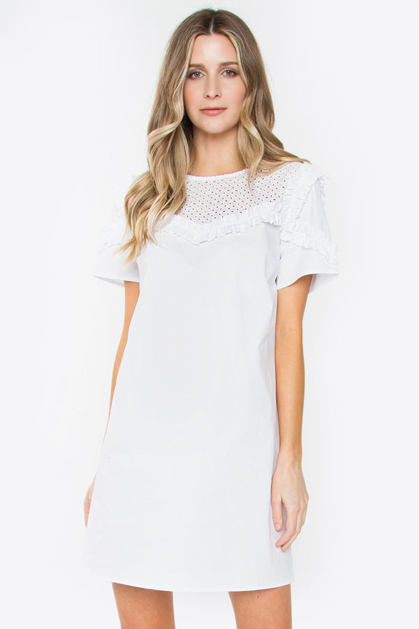 Angel Shift Dress