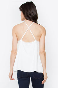 Darcey Scallop Cami Top