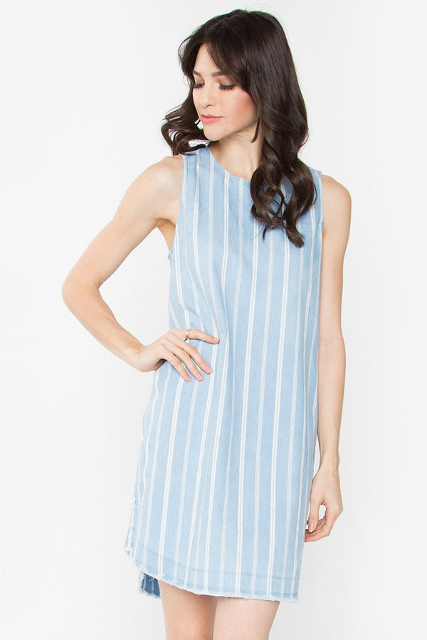 Ginny Striped Shift Dress