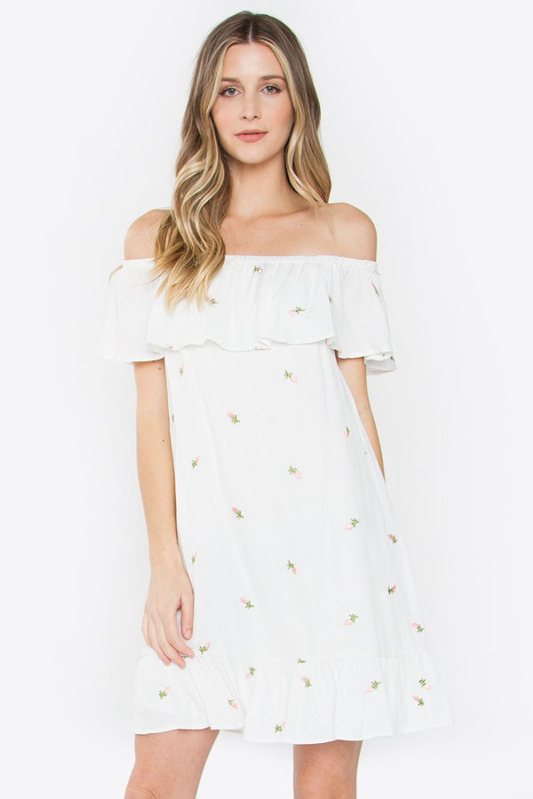 Absolute Off the Shoulder Dress