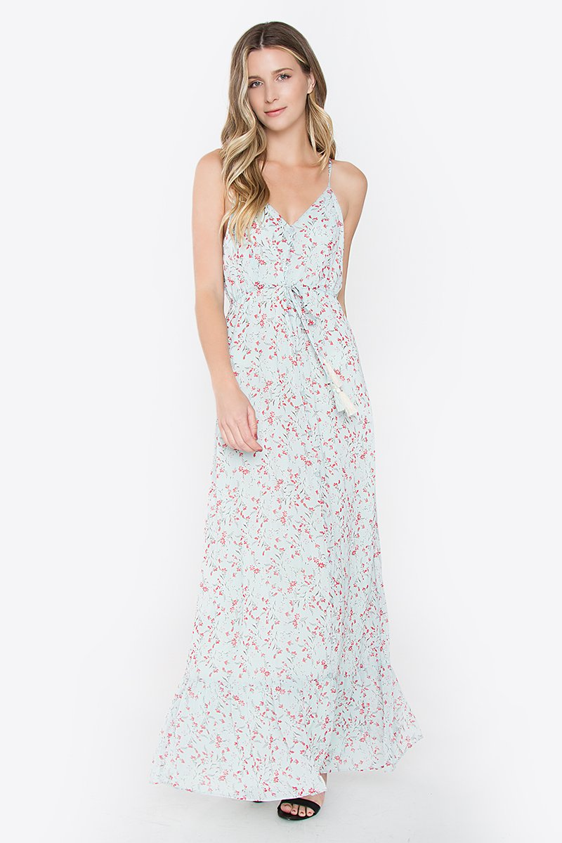 Harper Mint Ruffle Maxi Dress